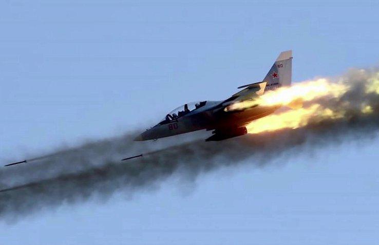МОЛНИЯ: Россия нанесла авиаудар