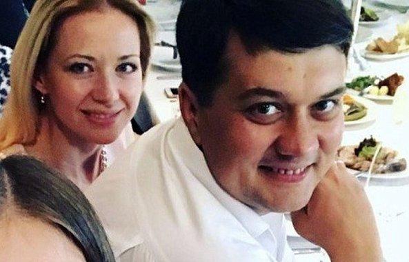 фото - Юлия Чайка и Дмитрий Разумков