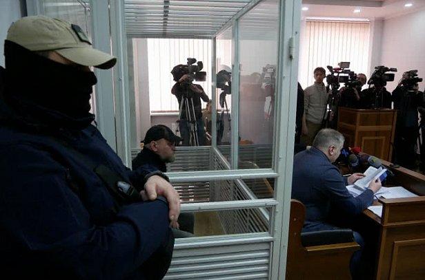 Рубана привезли в суд: первые подробности