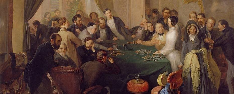 Эдуард Свобода, «Ва-банк», 1849