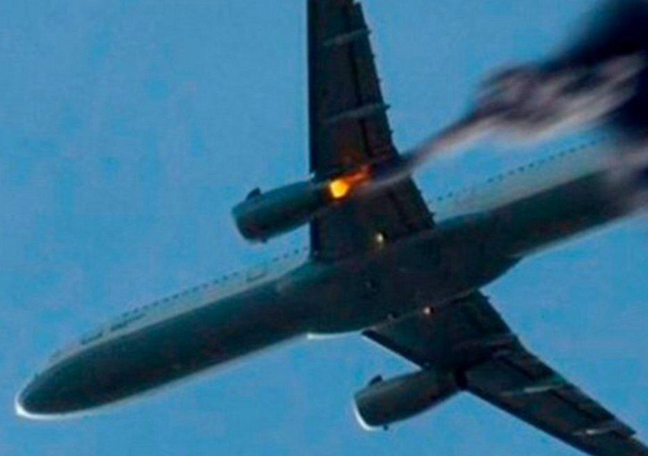След взрывчатки: в России прокомментировали падение самолета из-за теракта