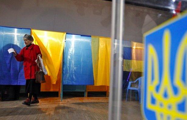 фото - явка на выборах в раду