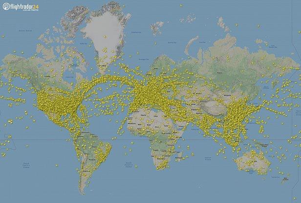 Рекорд в мировой авиации: зафиксировано самое большое число полетов за один день