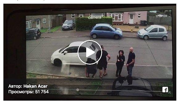 Спортсмен эффектно решил проблему с автохамом (видео)