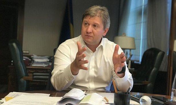 Данилюка отправили в отставку
