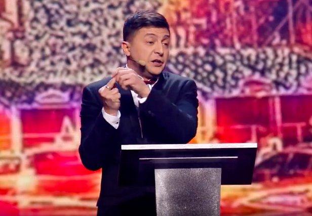 """""""Квартал 95"""" показал пародию на Порошенко"""