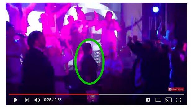 Савченко на закрытой вечеринке очень весло провела время (видео)