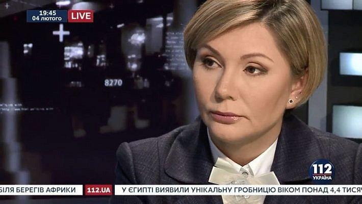 """Скандальная экс-регионалка на украинском телеканале заявила о """"гражданской войне"""" на Донбассе (видео)"""