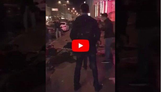 В центре Харькова джип влетел в толпу: много погибших (видео 18+)