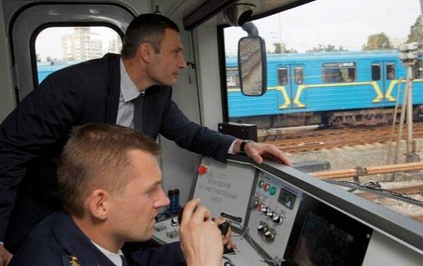 фото - Кличко в метро