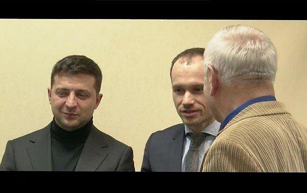 Фото — Владимир Зеленский, Денис Малюська, Юрий Ляшенко