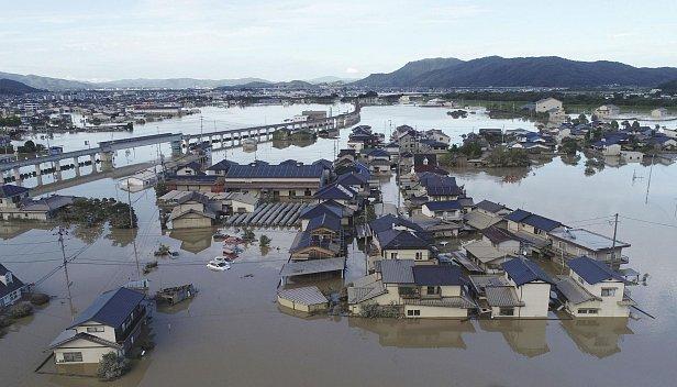 Наводнение в Японии: число жертв достигло 200 человек