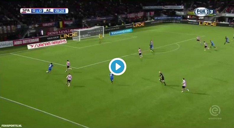 Голкипер голландского клуба отразил два пенальти менее чем за полторы минуты (видео)