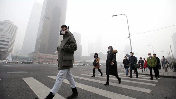 Фото — Загрязнение воздуха