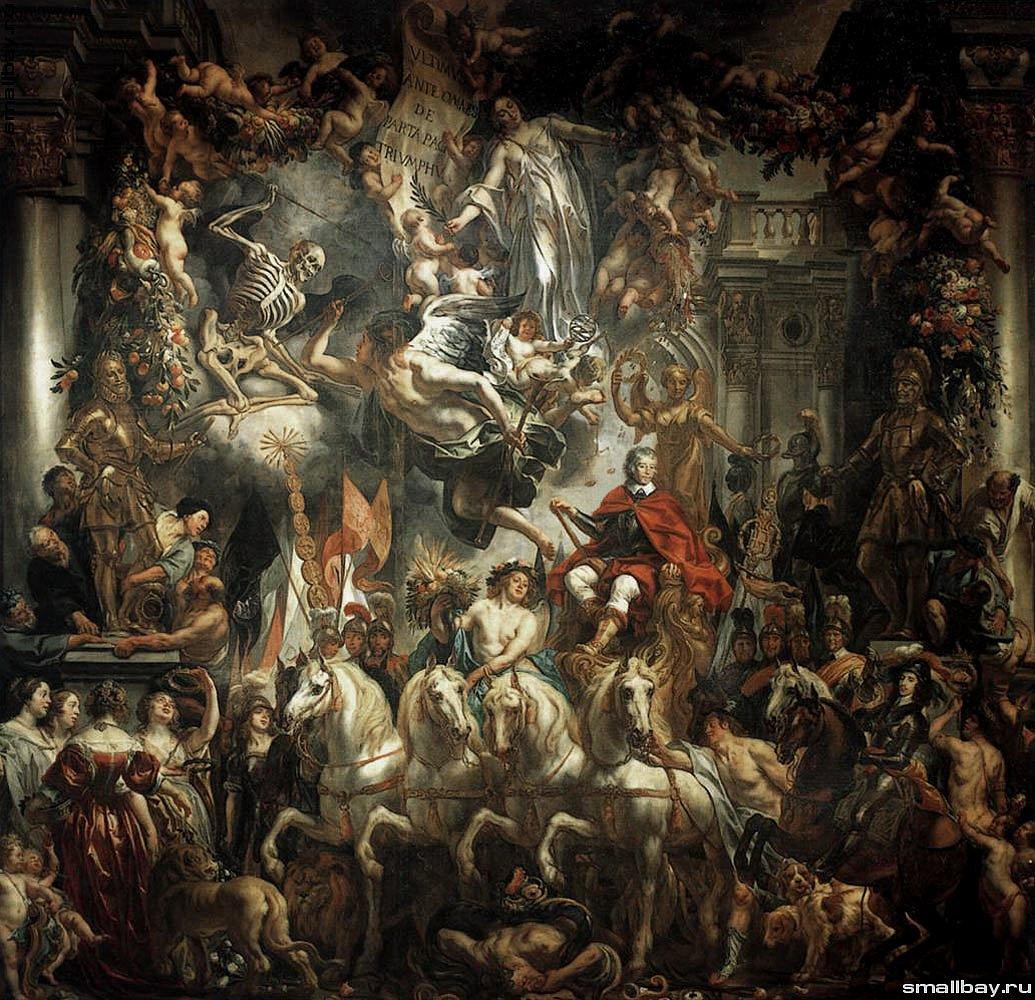 Якоб Йорданс, «Триумф принца Фридриха Генриха Оранского», 1647-1652