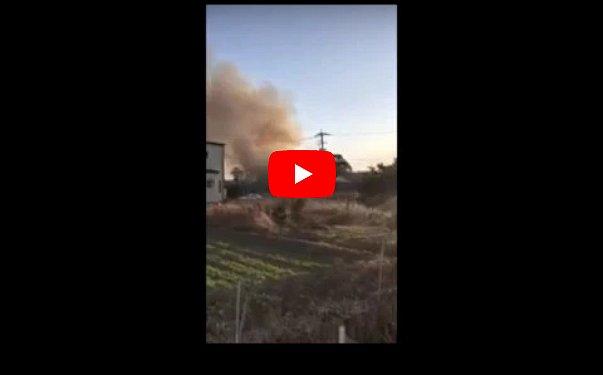 Упал военный вертолет на жилые дома: есть жертвы