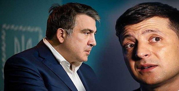 Фото — Саакашвили и Зеленский