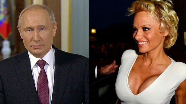Памела Андерсон обратилась к Путину