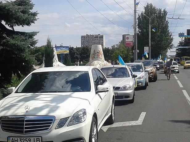 Мариупольцы присоединились к блокаде Крыма