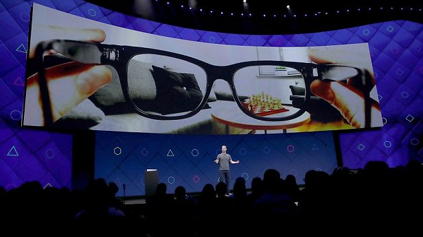 Фото - умные очки Facebook