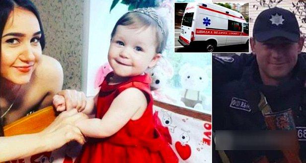 Пьяный полицейский выбросил жену с балкона на глазах у ребенка - фото