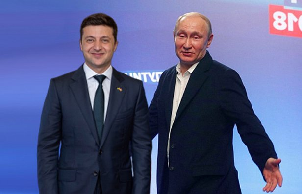 фото - итог встречи Зелеского и Путина