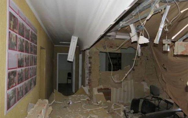 Взрыв в Сумах произошел в офисе «Батькивщины»