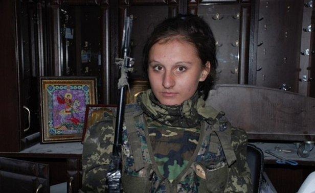 "В Донецке снайпер застрелил девушку ""Гиви"" (фото)"