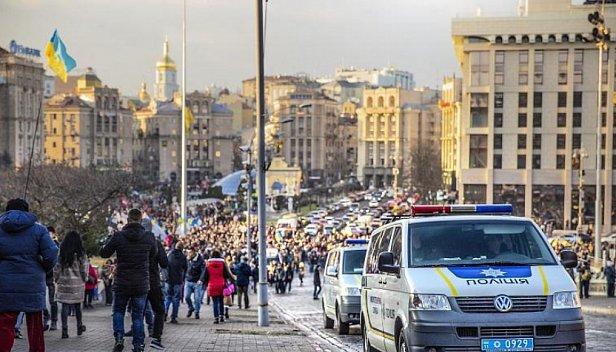 Фото — Вече на Майдане