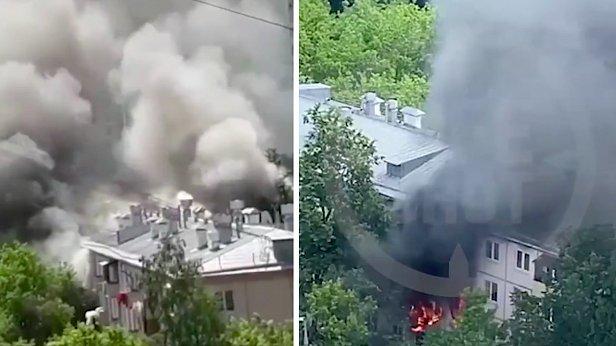 фото - видео взрыва Проходчиков в Москве