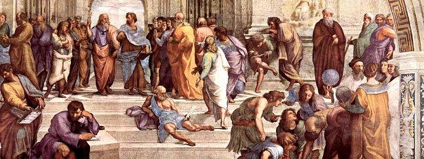 Рафаэль Санти, «Афинская школа», 1509-1511