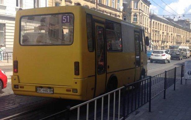 Цена на проезд в львовских маршрутках выросла до 4 грн