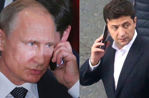 фото - Путин и Зеленский