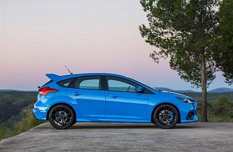 Ford Focus RS  научился дрифтовать