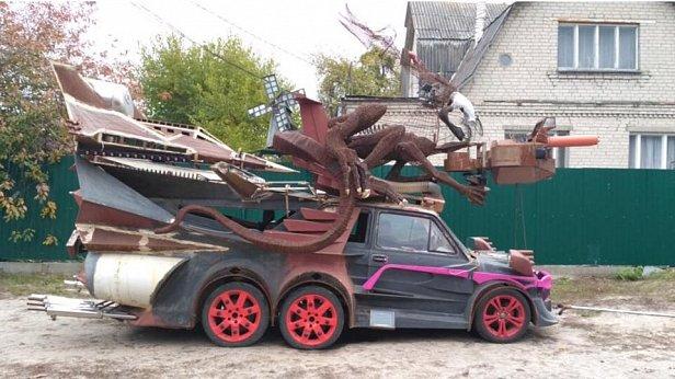 Под Киевом создали фантастический автомобиль (фото)