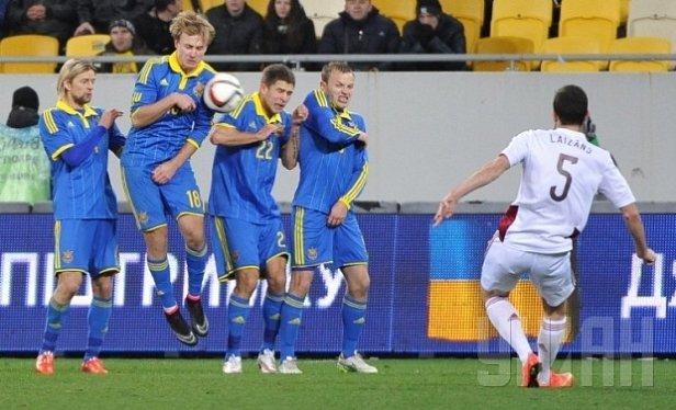 Сборная Украины может сыграть с Румынией, Албанией и Молдовой