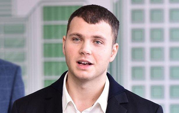 На фото Владислав Криклий