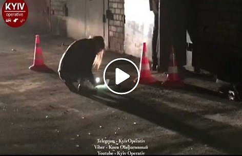 Четверо в балаклавах расстреляли мужчину в Киеве (фото, видео)