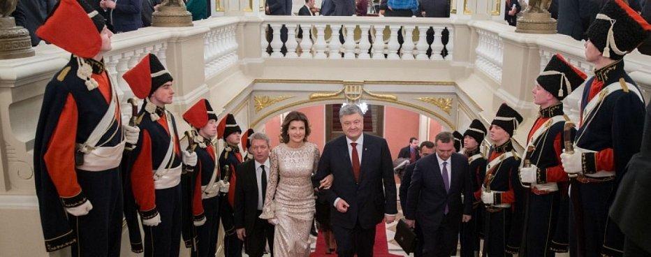 Порошенко за 800 тысяч гривен из бюджета съездит на Венский бал