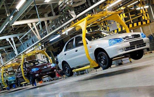Автопроизводство в Украине за апрель выросло почти на треть