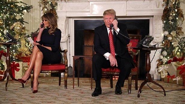 Дональд Трамп намекнул 7-летнему ребенку, что Санты не существует