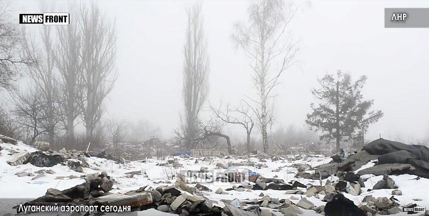 Что осталось от Луганского аэропорта: появилось свежее видео