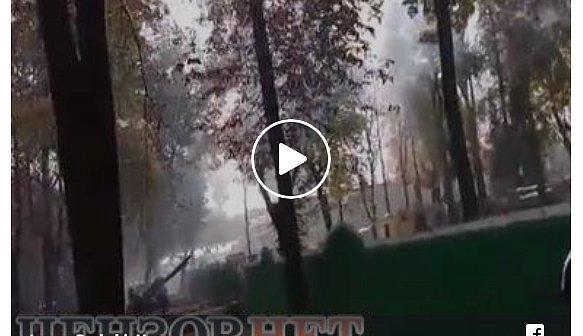 """Появилось видео причины """"взрывов"""" под Радой"""