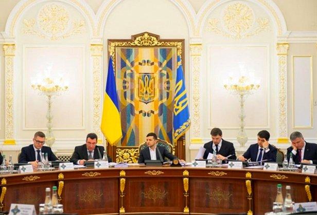 СНБО ввело санкции на все имущество Медвечука и Марченко