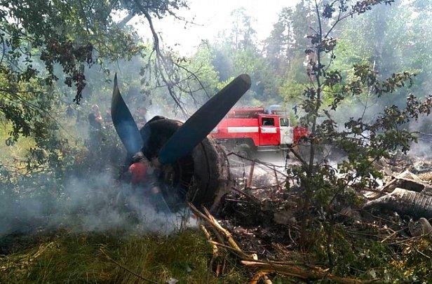 фото - авиакатастрофа АН-2 в Полтавской области