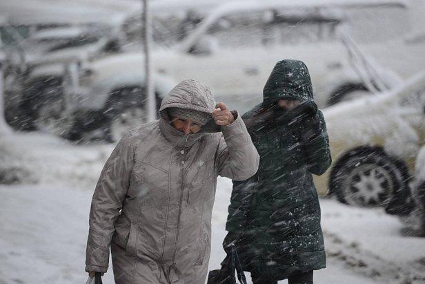 Фото — Снег