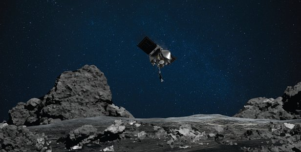 Человечество впервые в истории посадило космический аппарат на астероид