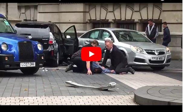 Появилось видео задержания водителя, который въехал в толпу людей
