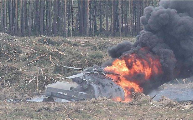 В море упал российский вертолет: первые подробности