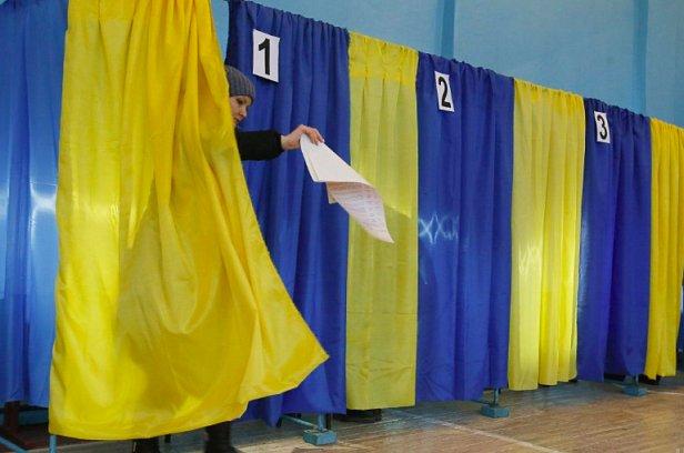 фото - выборы в Украине